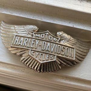 1973Harley Davidson Cycles Eagle Wings Belt Buckle